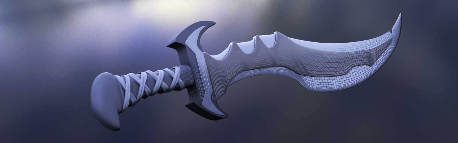 Use These 10 Easy Steps to Model a Sword in Maya   Pluralsight