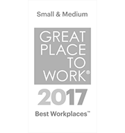 Small & Medium Great Place to Work Award 2017