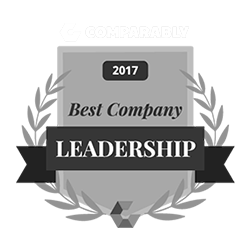 Comparably 2017 Best Company Leadership Award