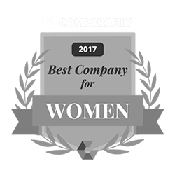 Comparably 2017 Best Company for Women Award