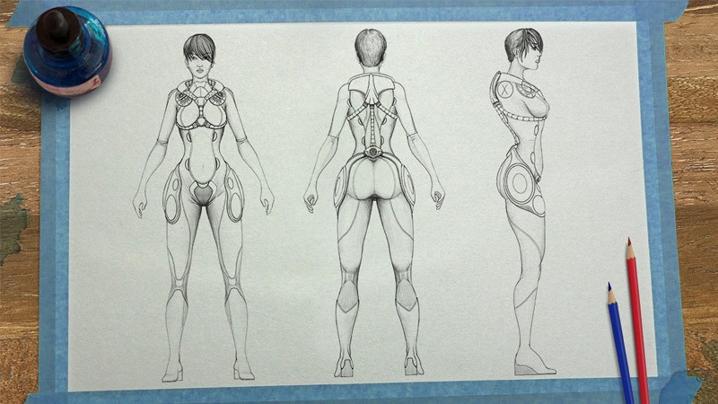 10 Tips For Becoming A Hotshot Character Concept Artist Pluralsight