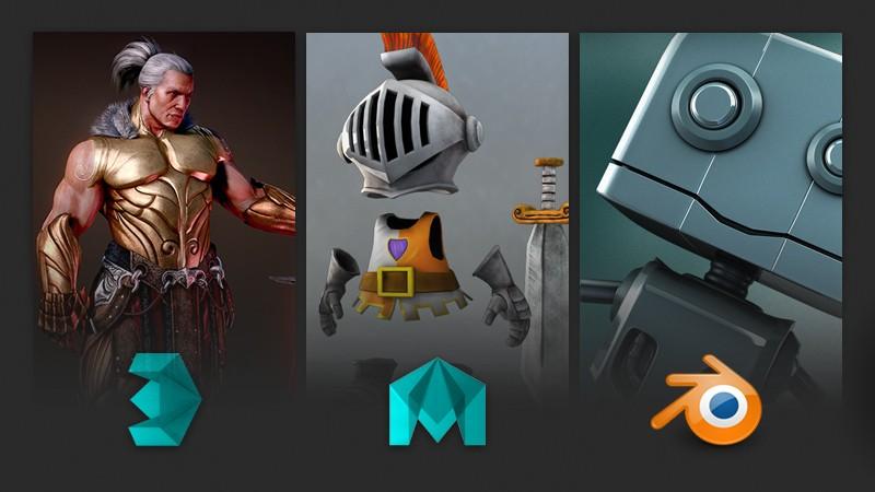 Blender Character Modeling 10 Of 10 : Ds max maya lt or blender which d software should i