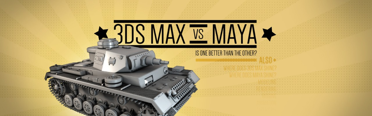 3ds Max vs  Maya: Is One Better than the Other? | Pluralsight