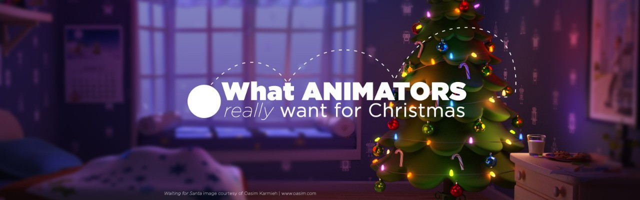What an Animator Really Wants as a Gift for Christmas | Pluralsight