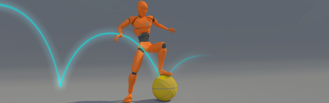 ball bounce animation example