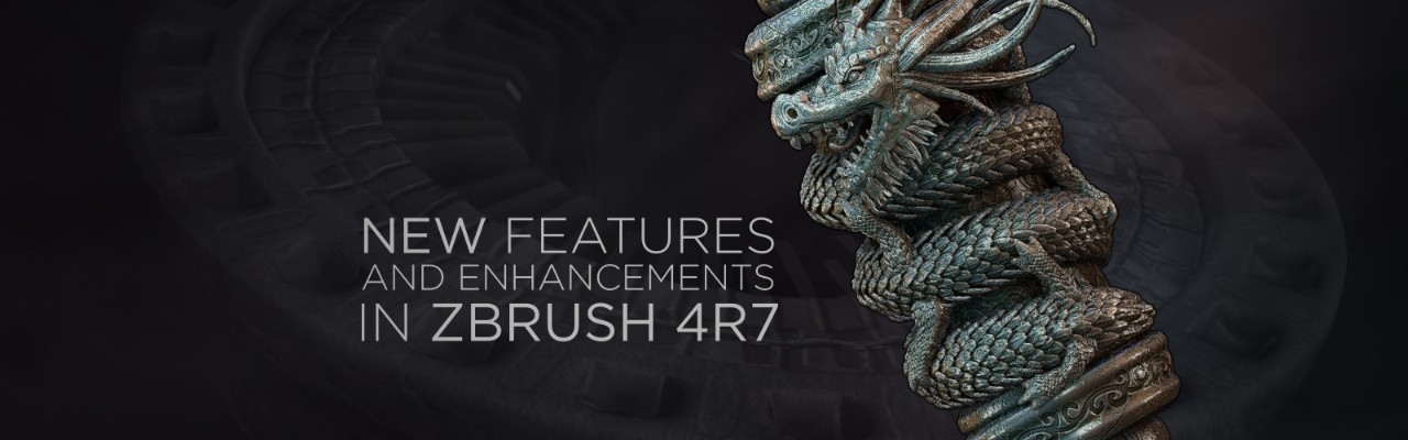 New features and enhancements in ZBrush 4R7 | Pluralsight
