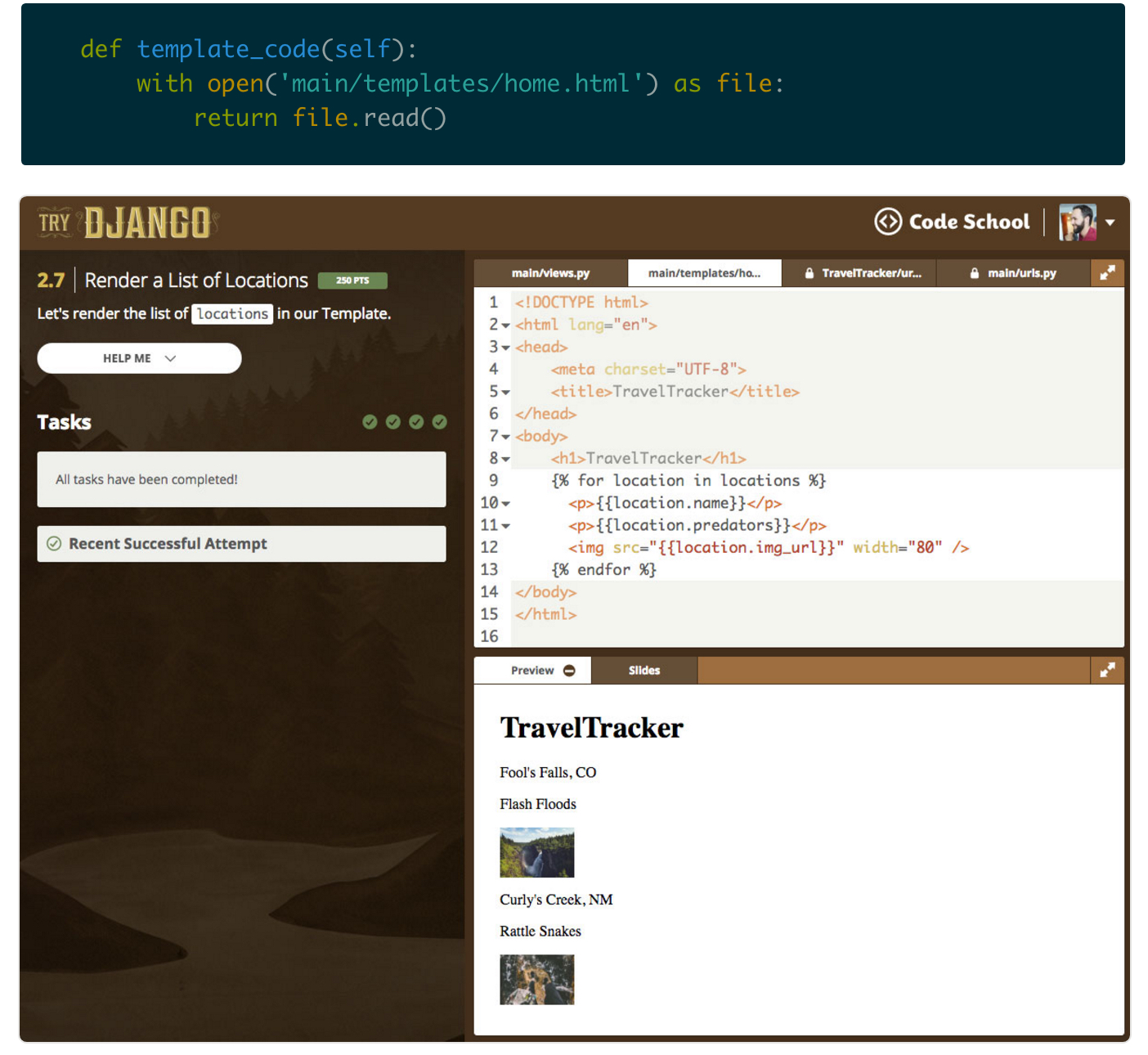 Creating Interactive Previews With Django and Docker   Pluralsight
