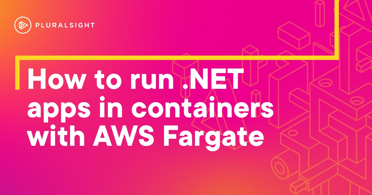 Deploying .NET apps to containers on AWS