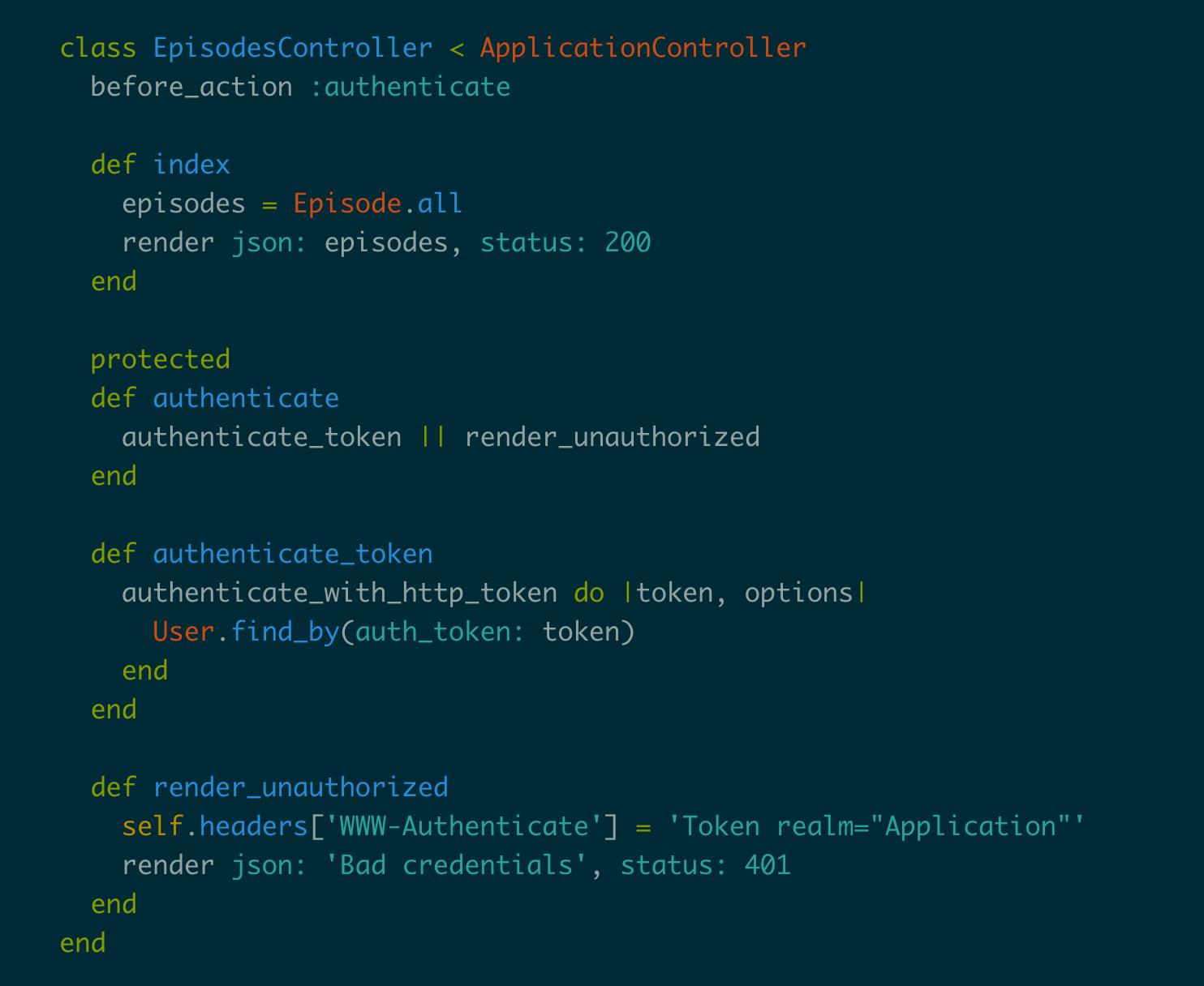 Token Based Authentication in Rails - Code School Blog