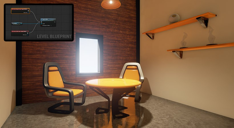 Unreal Engine 4 Tutorial Use Blueprint To Create Interactive Lights Pluralsight Pluralsight