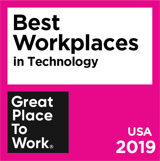 Best workplaces in Technology awarded by Great Place to Work