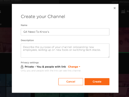 Channels: personalize your learning experience | Pluralsight
